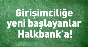 Halkbank Girişimci Kredileri