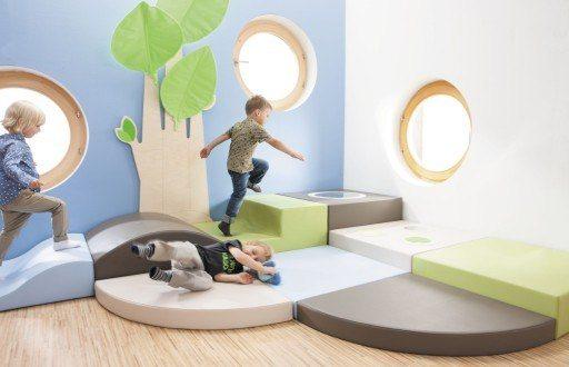 Foam play structure / nursery