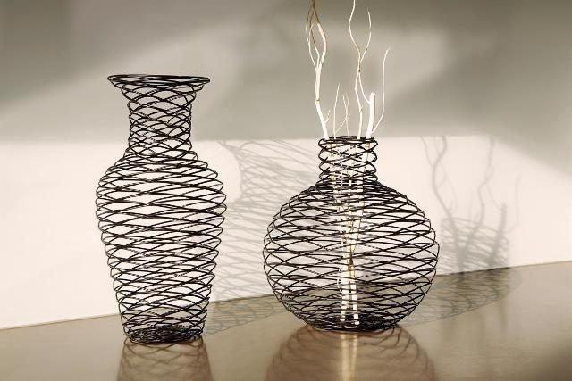 Evde dekoratif vazo işi